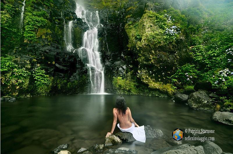 Isole azzorre flores reflexinviaggio - Cascate in italia dove fare il bagno ...