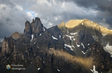 Roches de Crépin e la pointe des Cerces